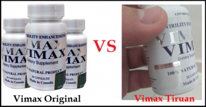 vimax tiruan